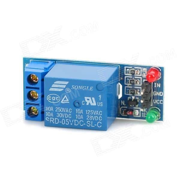 Relaismodul 1 Kanal 5V// 230V Arduino AVR Relais Optokoppler Relay