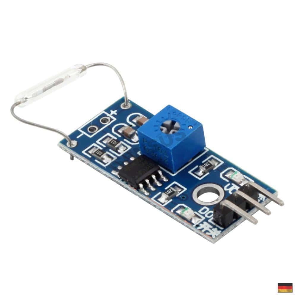 reed sensor modul magnetschalter reedkontakt arduino. Black Bedroom Furniture Sets. Home Design Ideas