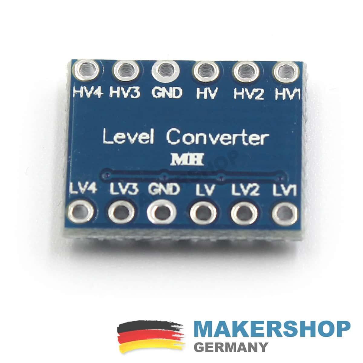 5 Stck 4 Kanal Pegelwandler Level Shifter Konverter I2c 5v 33v To And Electronics Components Nur 375 Inkl Mwst Zzgl Versand