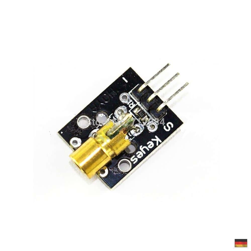 ky 008 laser pointer sensor transmitter modul module. Black Bedroom Furniture Sets. Home Design Ideas