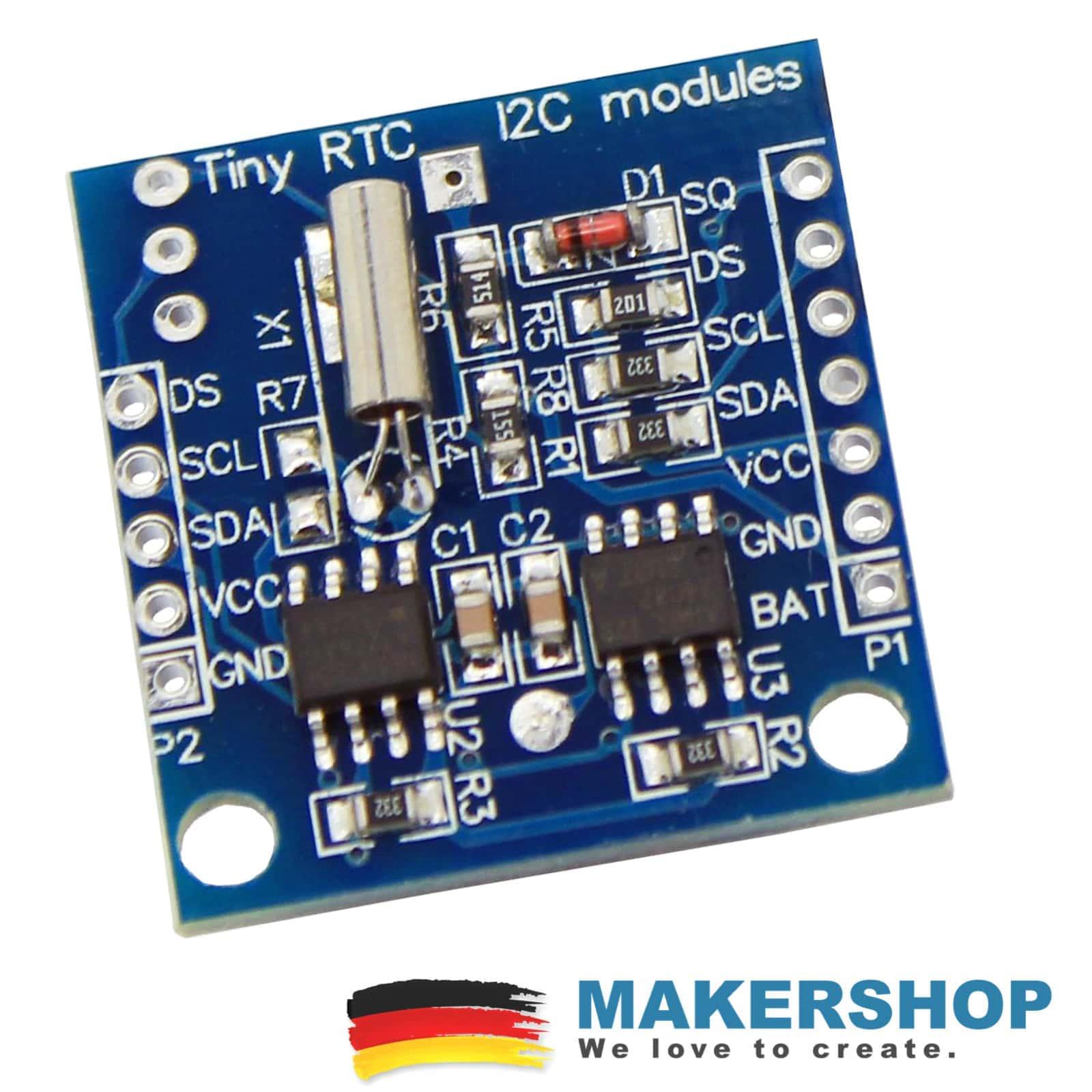 Rtc Ds1307 At24c32 Iic Real Time Clock Modul Temperatur Arduino Ds1307realtimeclockschematic Click To Enlarge Startseiteshopraspberry Pizubehr
