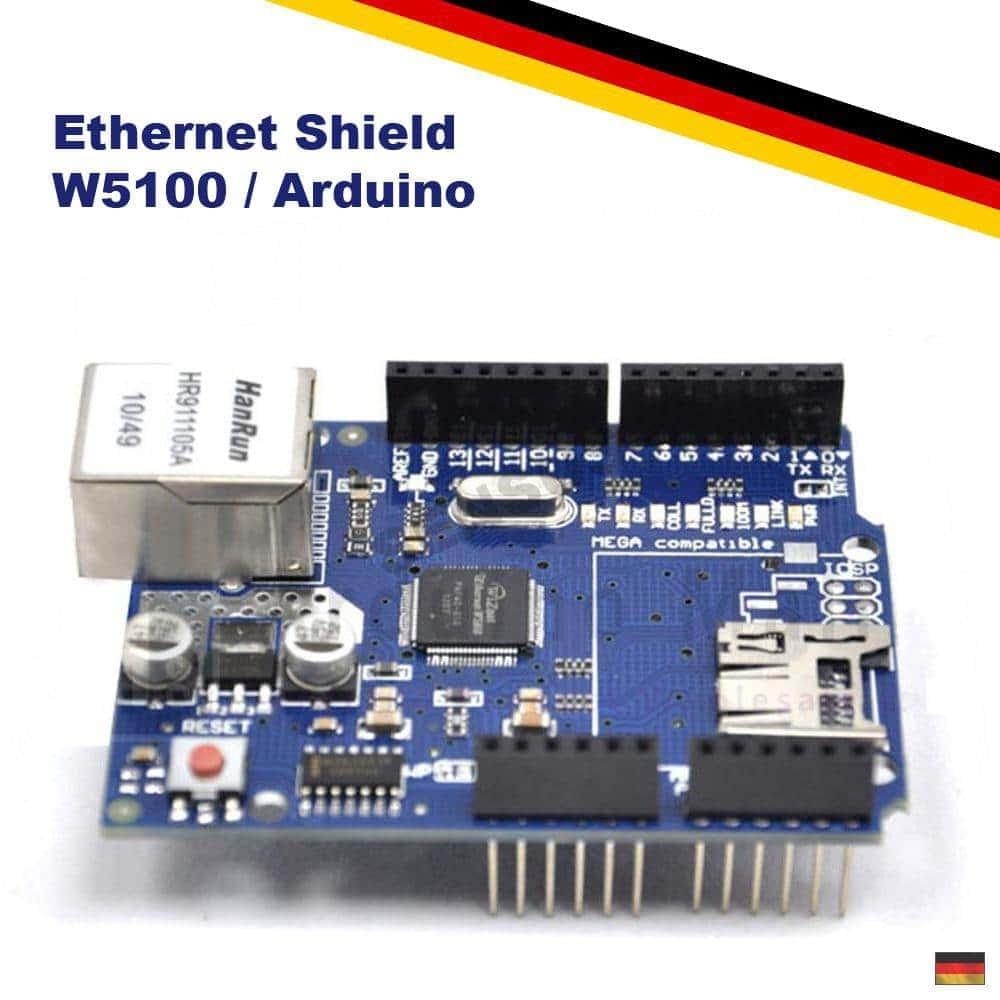 W5100 Ethernet LAN Netzwerk Shield Arduino UNO R3 MEGA2560 WizNet RJ45 Board