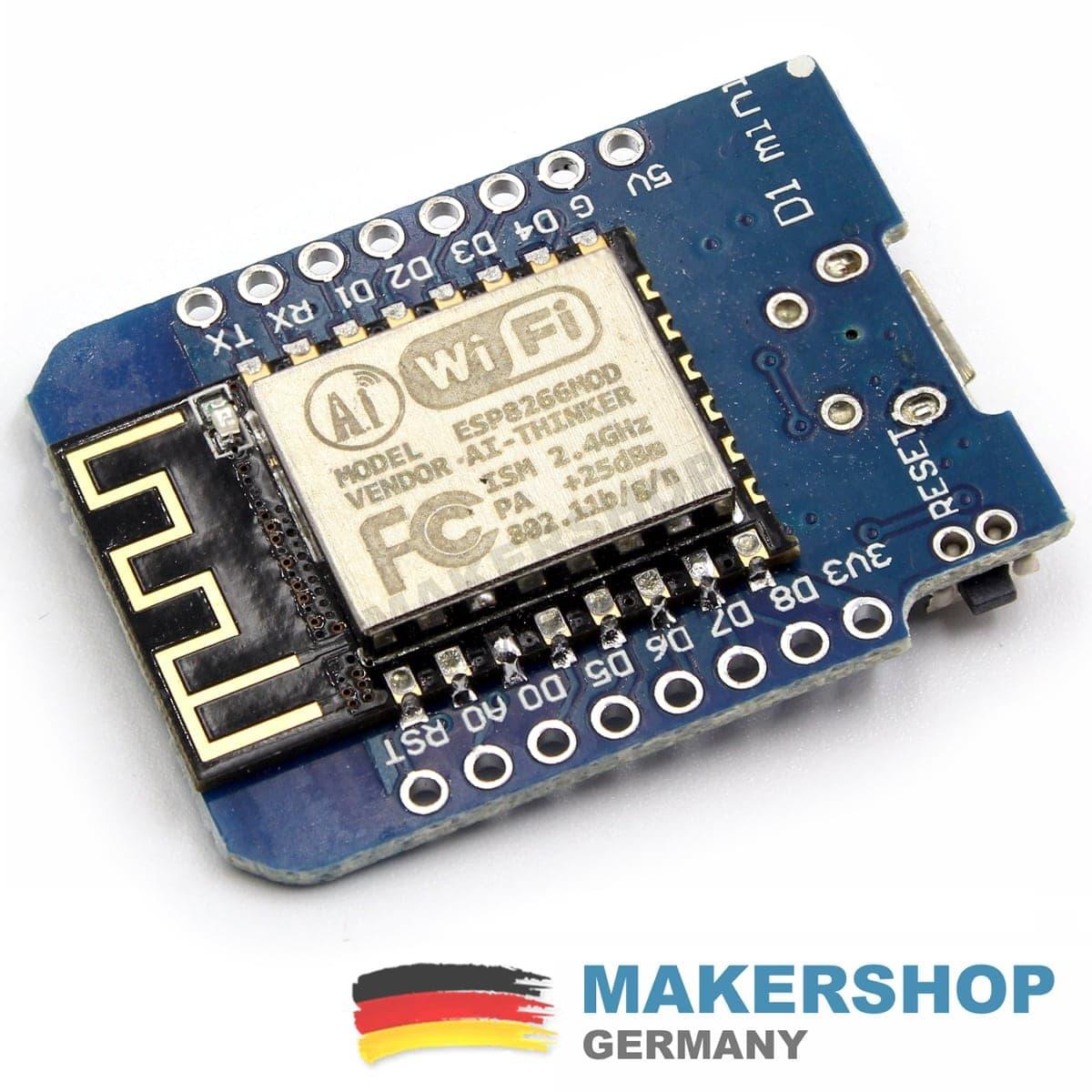 Projekt Box Gehäuse Plastik Project Wemos Arduino Nano NodeMCU Mini 10x6x2.5cm
