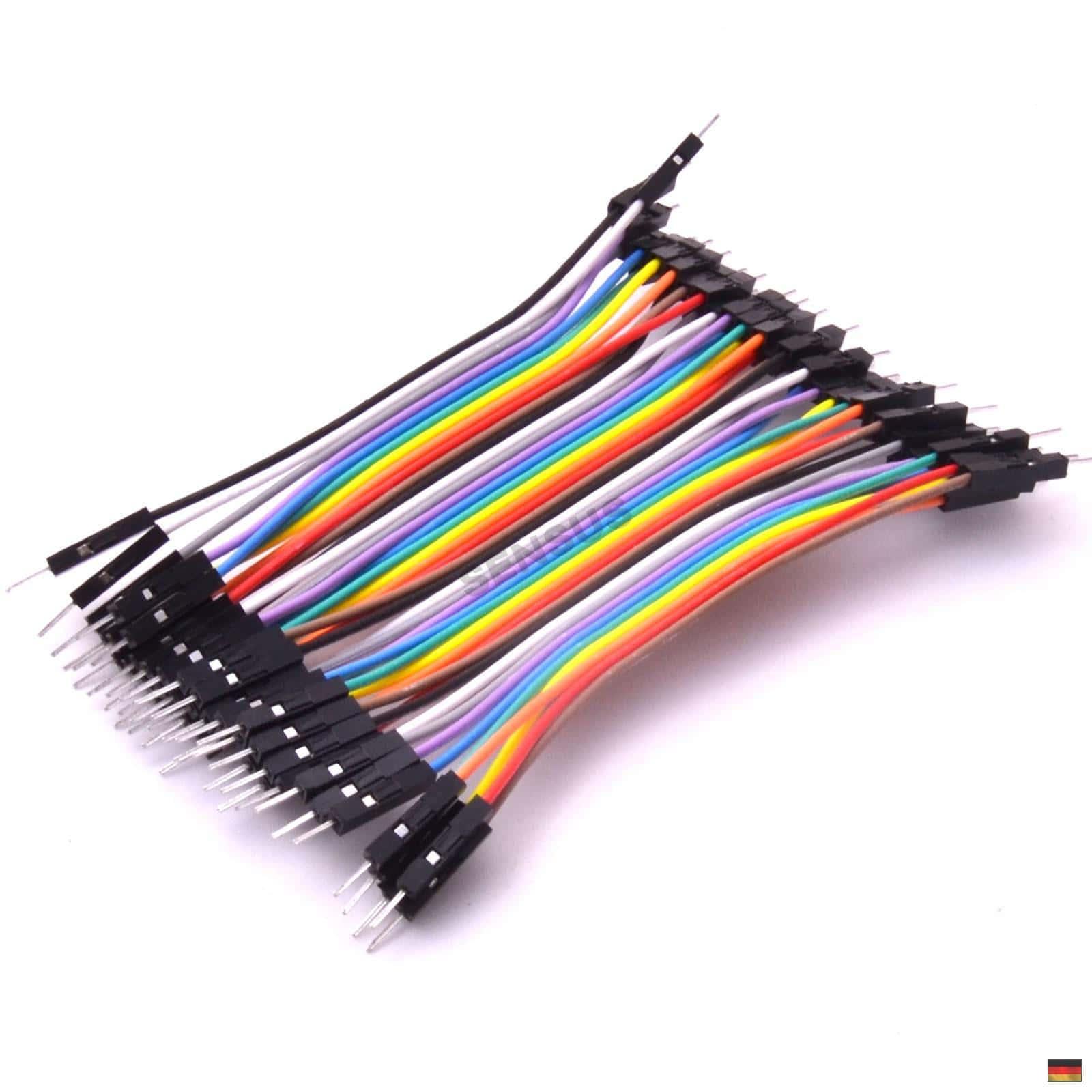 40-Pin Jumperkabel//Pin Steckbrücken weiblich-männlich für Arduino//Raspberry Pi