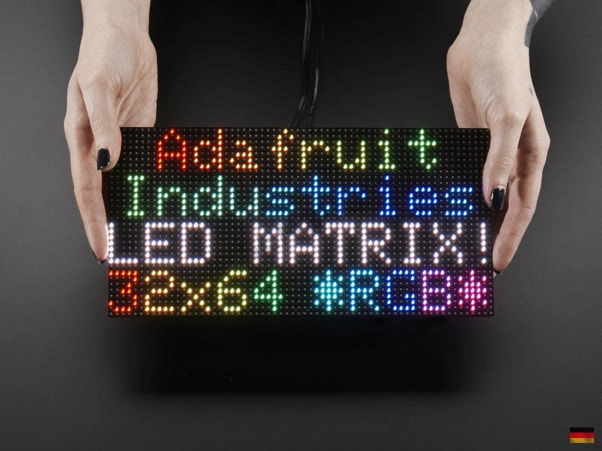 20x20 Full Color RGB Panel LED Matrix P20 20mm Pitch Adafruit ...