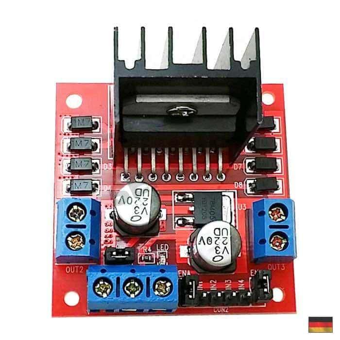 l298n motortreiber endstufe schrittmotor driver arduino. Black Bedroom Furniture Sets. Home Design Ideas