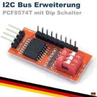PCF8574T 8-Bit I/O I2C PCF8574