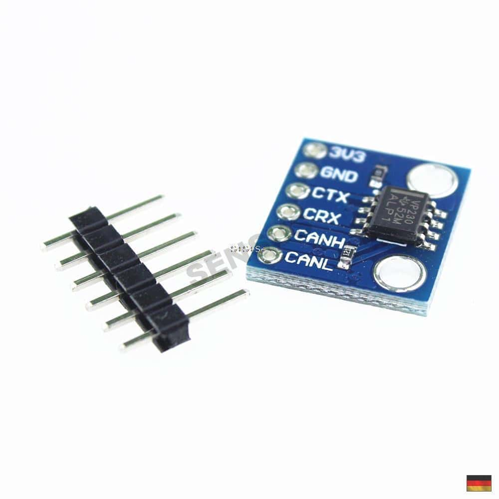 Sn65hvd230 3.3v bus can módulo Breakout Board transceiver feldbus Arduino canbus