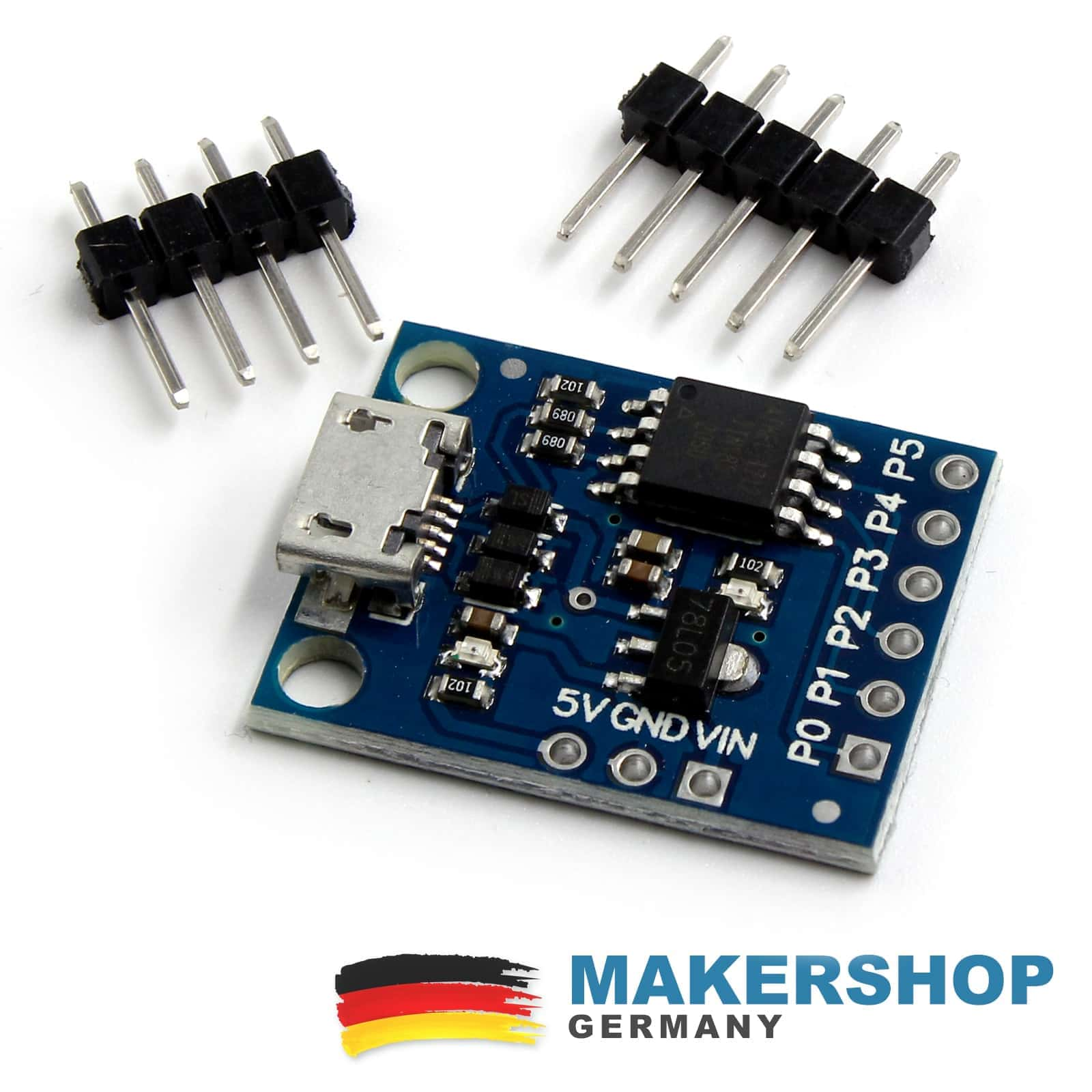 Mini arduino micro usb development digispark kickstarter