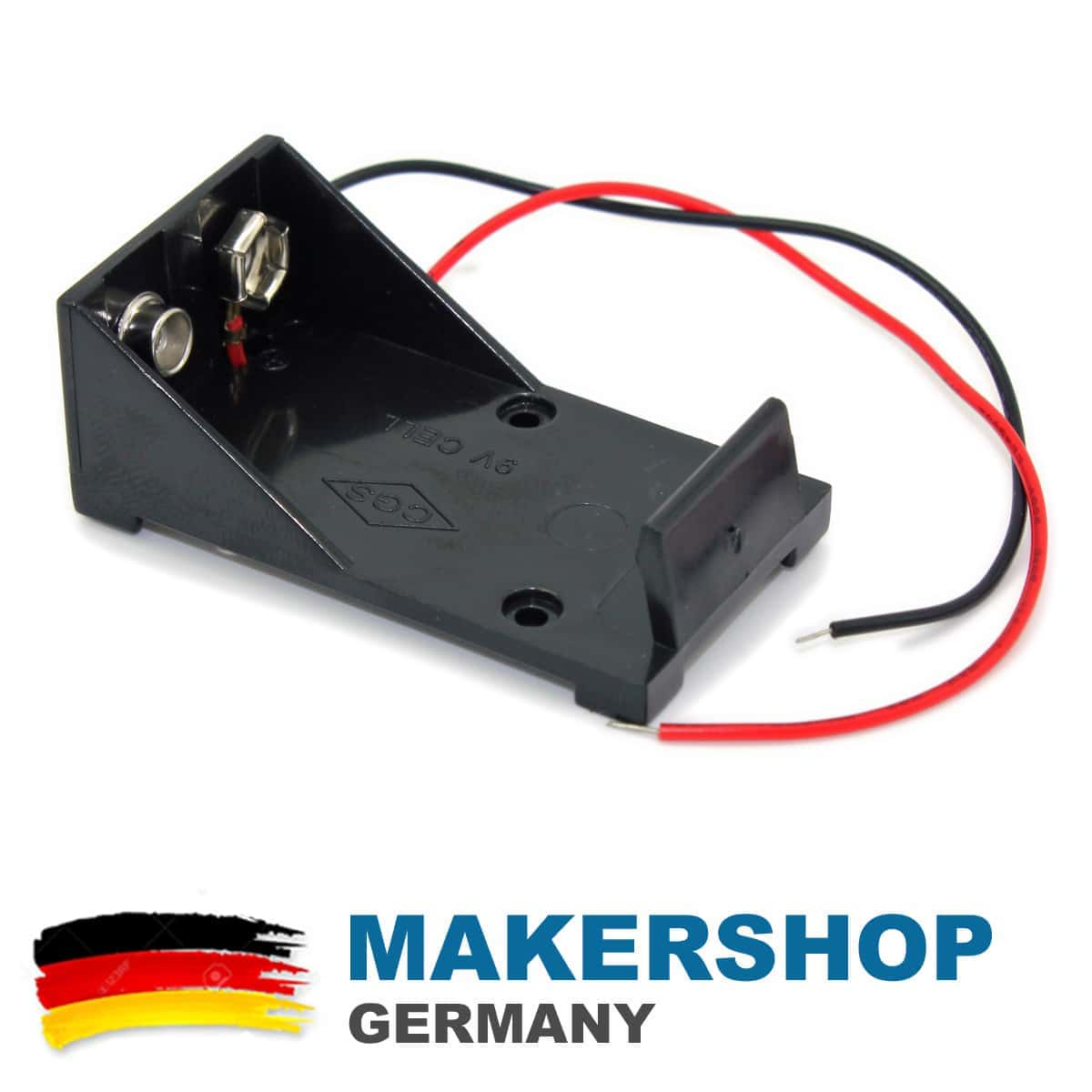 9 volt batteriehalter batteriefach clip geh use blockbatterie halterung 9v ebay. Black Bedroom Furniture Sets. Home Design Ideas