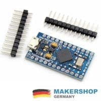 Pro Micro Atmega 32u4 Arduino komp. 16Mhz Board Mini 5V 3.3V Micro USB Leonardo
