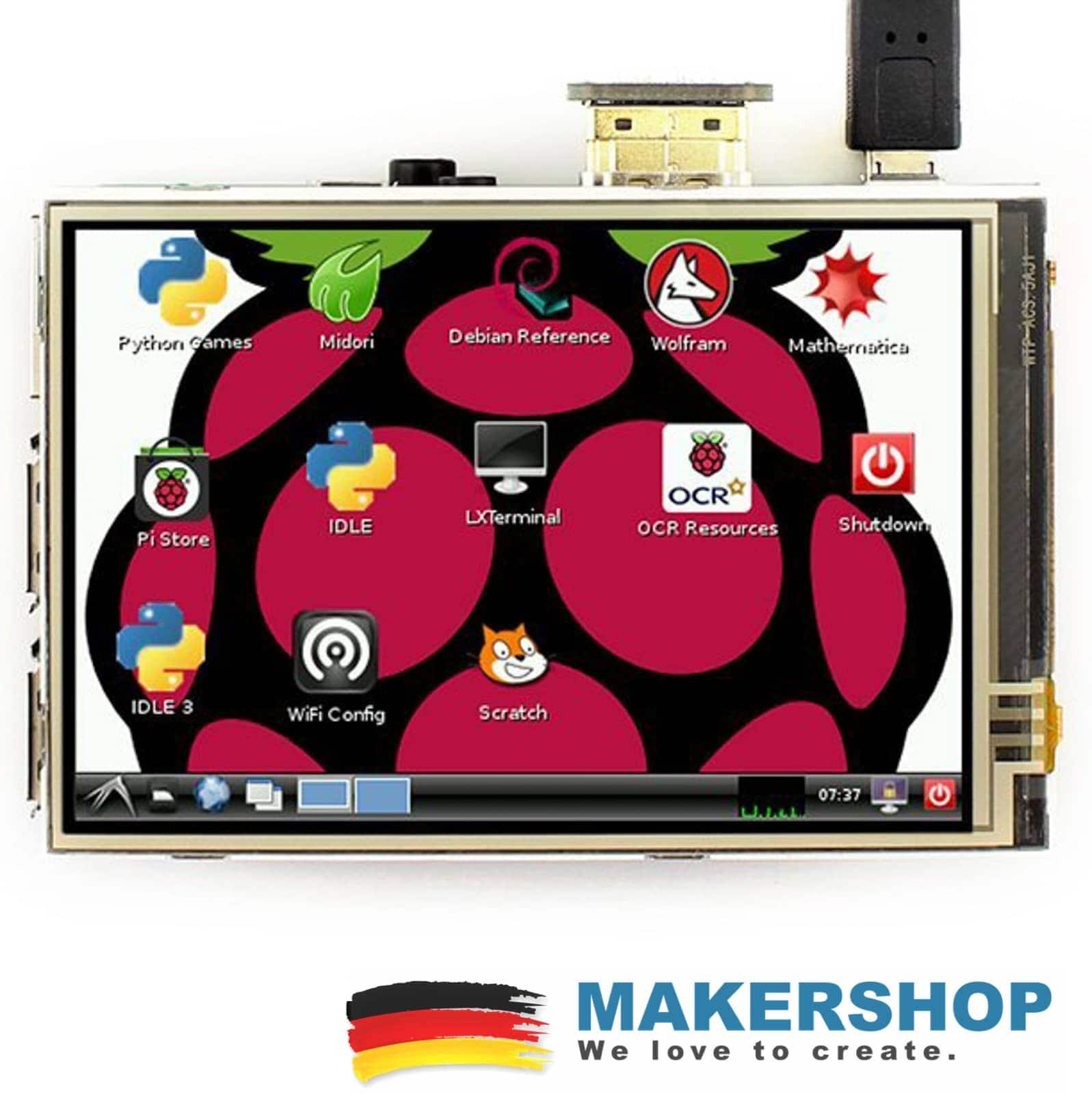 Raspberry Touch TFT