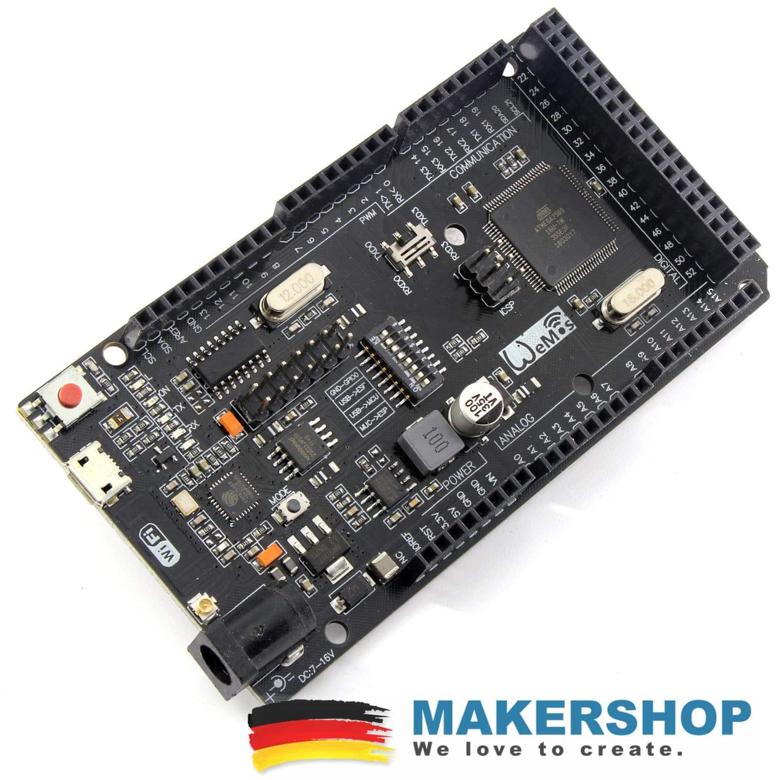 Arduino Mega 2560 WLAN WIFI Board