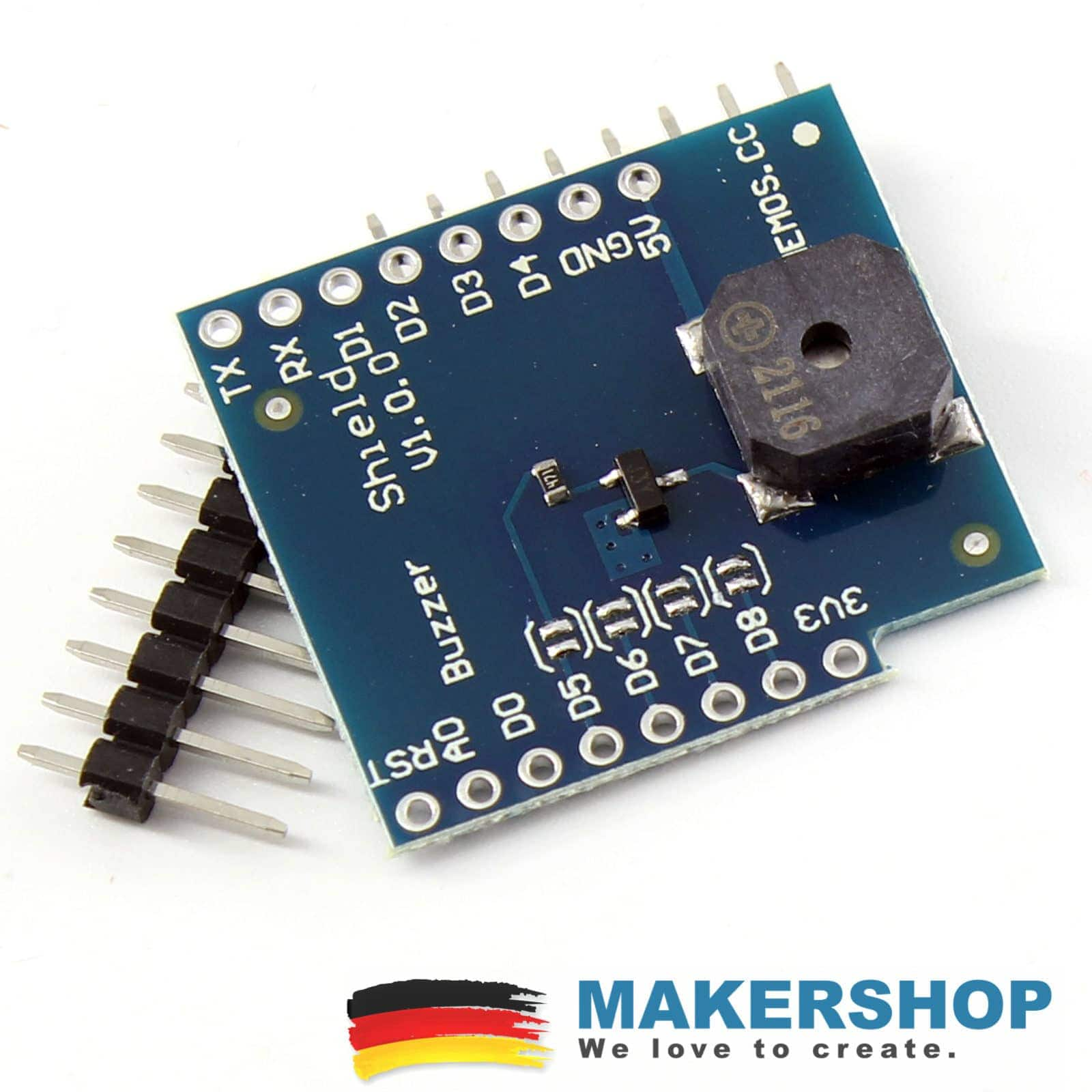 D1 Mini Buzzer Shield