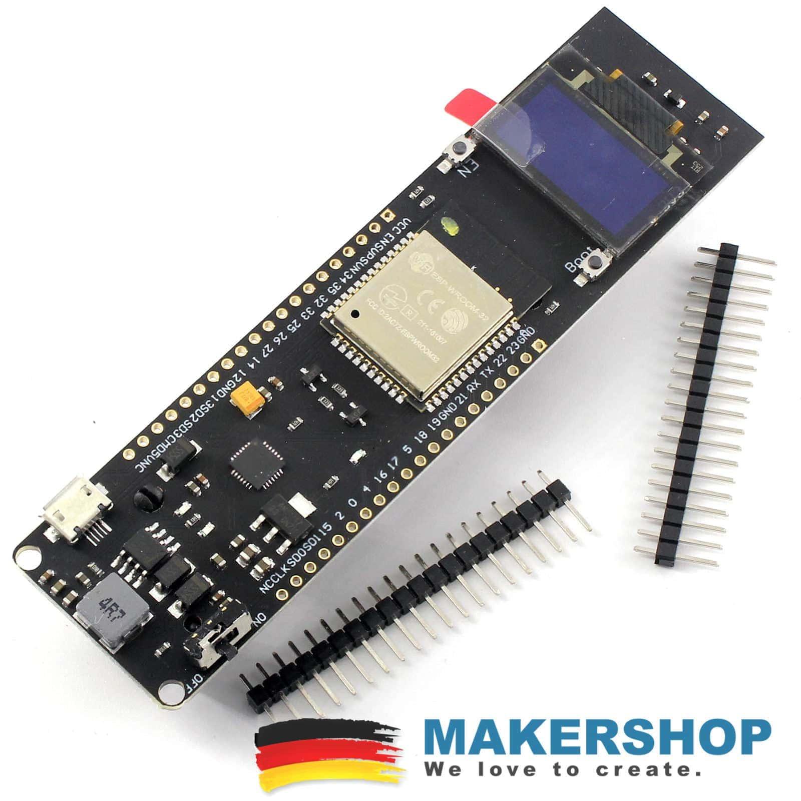 TTGO ESP32 Batterie Akku Board OLED