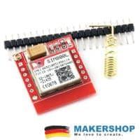 SIM800L GSM GPRS Arduino Raspberry