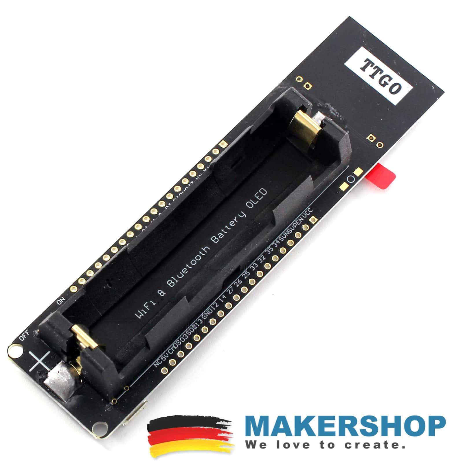 TTGO ESP32 Batterie Akku Board