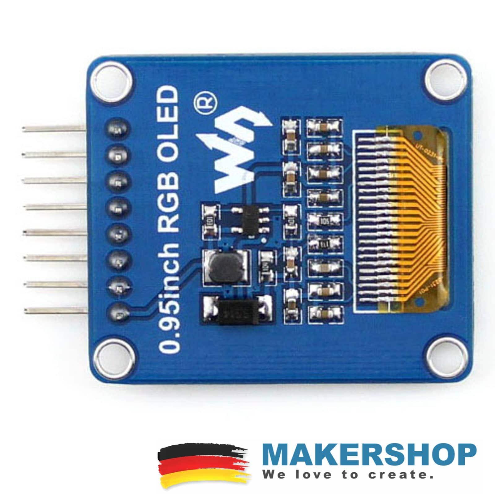 Waveshare RGB OLED 0.95 inch