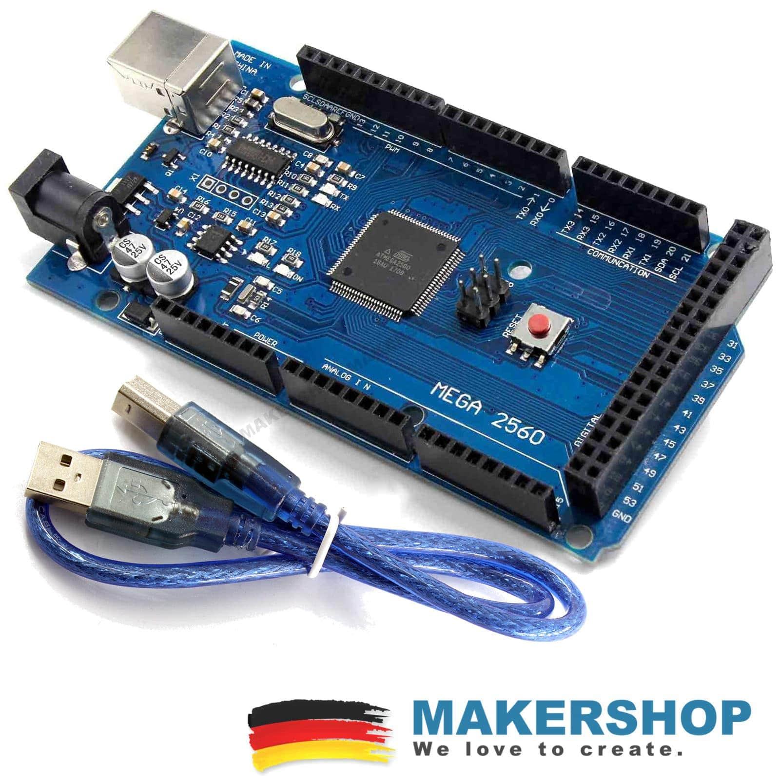 Arduino Mega 2560 mit USB