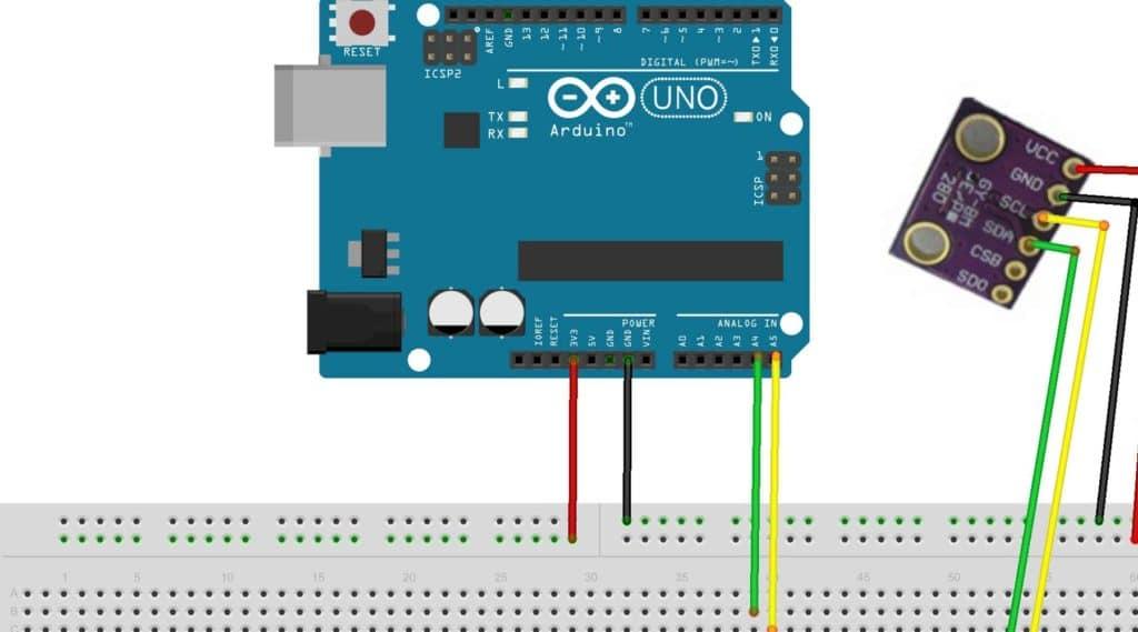 Arduino und BME280 Sensor