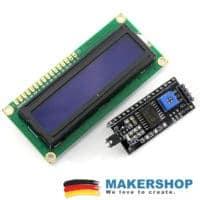 LCD 1602 BLAU