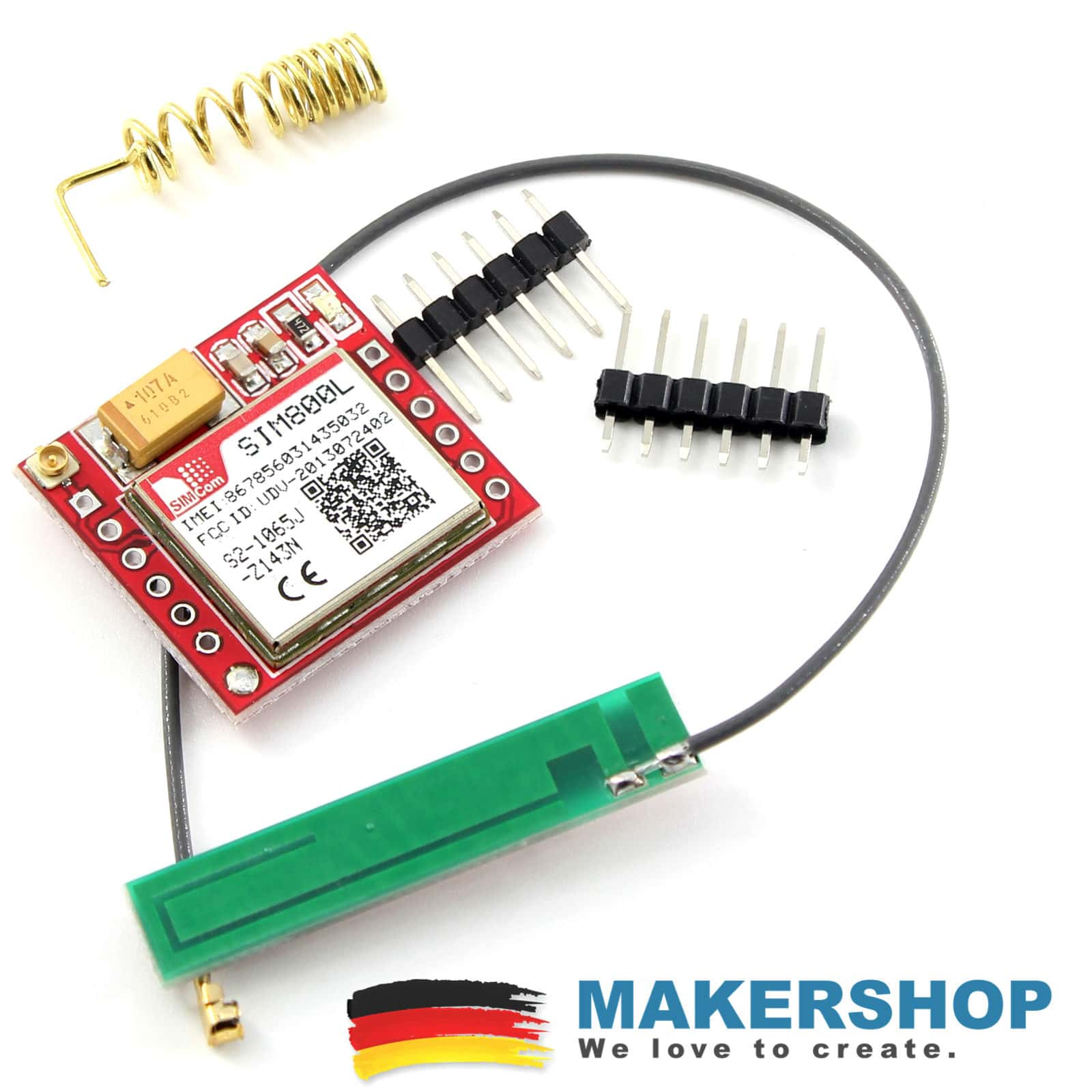 SIM800L + Antenne